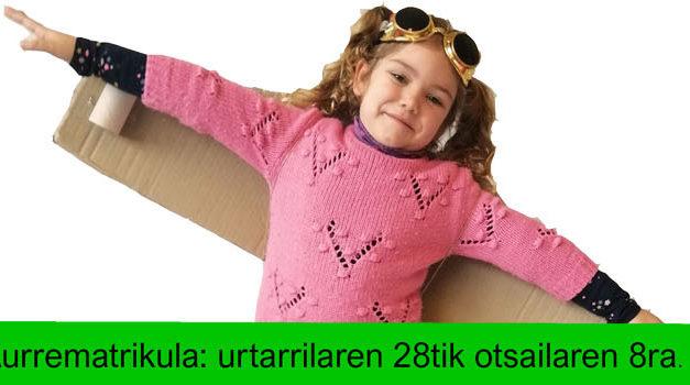 Aurrematrikula  2019-2020