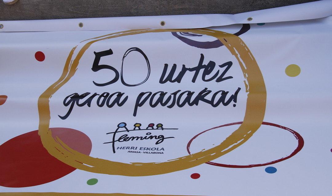 50  URTEZ  GEROA  PASAKA!