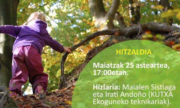 """""""ESKOLAK  NATURAN!""""  HITZALDIA"""